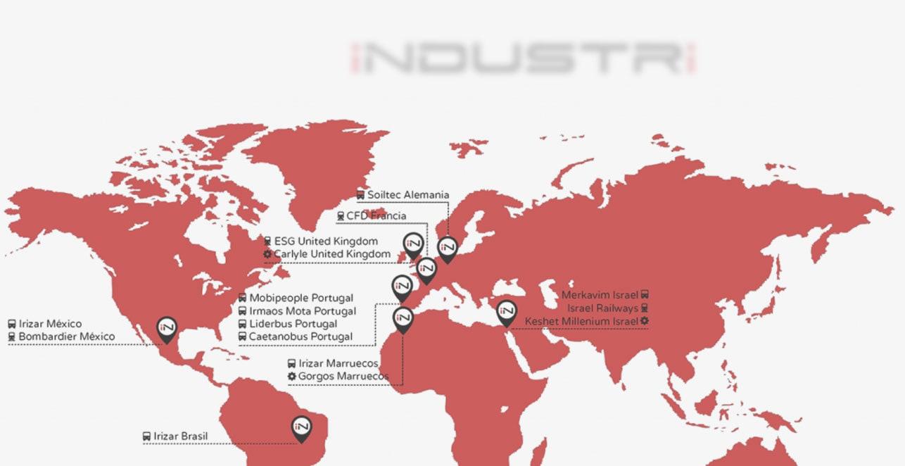 Mapa Clientes Industri