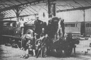 La historia del tren en España