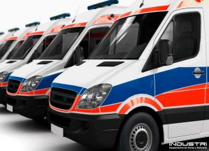 Custom manufacturing of parts for ambulances