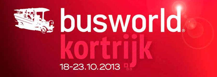 BusWorld Kortrijk 18-23.10.2013