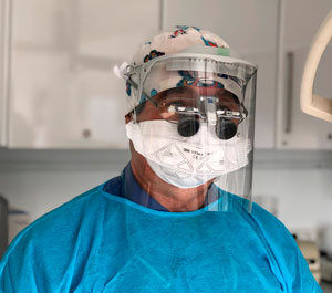 Pantalla facial anti COVID 19