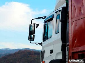Custom manufacturing of rear view mirrors for lorries
