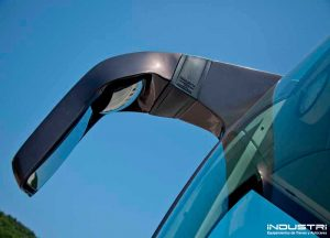 Custom manufacturing of exterior rear view mirrors for buses