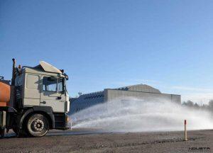 Retrovisores para vehículos de riego y baldeo