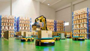 La robótica en la logística