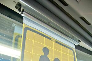 cortina enrollable transporte escolar para autobus