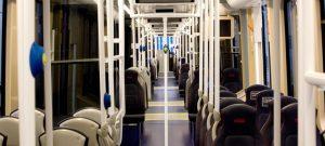 Tranvía Edimburgo suministrado por CAF